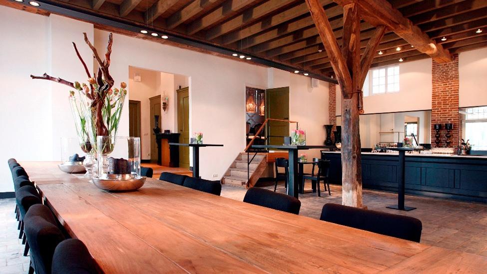 Ook voor een vergadering voorafgaand aan jullie personeelsfeest bij Buitenplaats Amerongen kun je goed terecht.