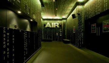 De verschillende ruimtes van feestlocatie AIR Amsterdam