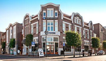 Het pand van feestlocatie De Traverse in Helmond.