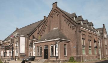 Pand van feestlocatie de Lichtfabriek in Haarlem.