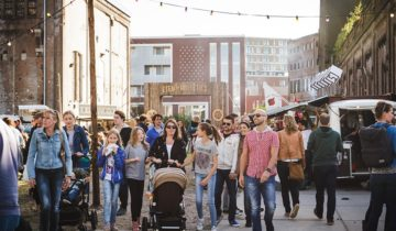 Bedrijfsfestival bij de Lichtfabriek feestlocatie Haarlem.