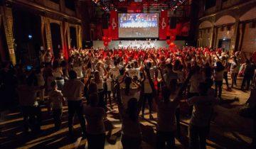 Personeelsfeest bij de Lichtfabriek feestlocatie Amsterdam.