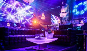 Vip tafels bij feestlocatie Escape in Amsterdam