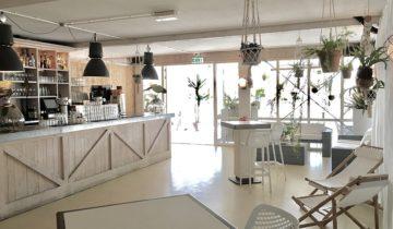 De bar van feestlocatie Down Under in Nieuwegein