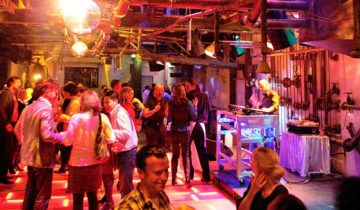 De fabriek in feest setting van fort st. gertrudis feestlocatie Geertruidenberg