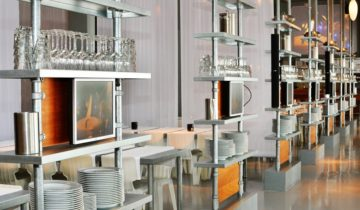 De open keukens van de kookfabriek Amsterdam feestlocatie in Amsterdam