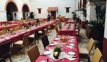 Dineer in Romeinse sferen bij feestlocatie Archeon in Alphen aan den Rijn.