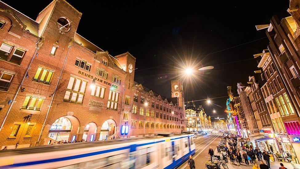 Feestlocatie Beurs van Berlage in Amsterdam is midden in het centrum van de hoofdstad