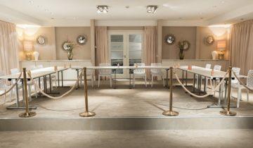 Vergaderen kan ook bij Finley Het Witte Huis feestlocatie in Loosdrecht.