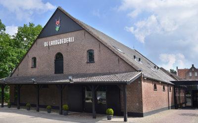 Het pand van feestlocatie De Landgoederij in Bunnik.