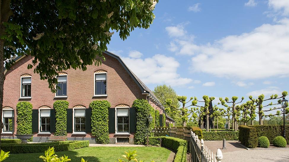 Zicht op het pand van feestlocatie Mereveld in Utrecht.