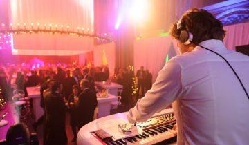 DJ in Orangerie Den Bosch.