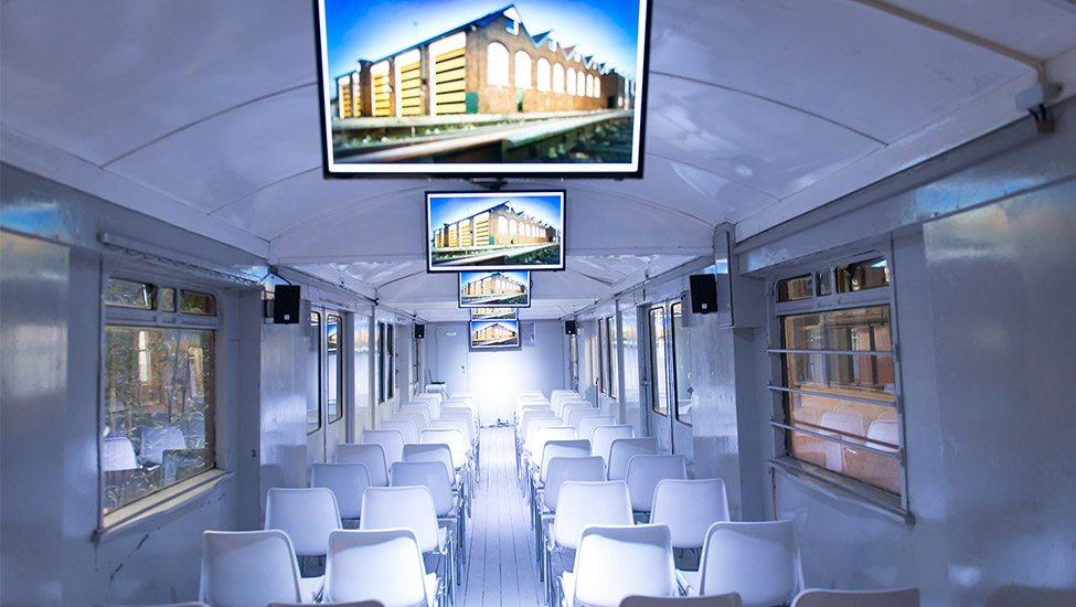 In een treinwagon vergaderen? Het kan bij De Rijtuigenloods Amersfoort