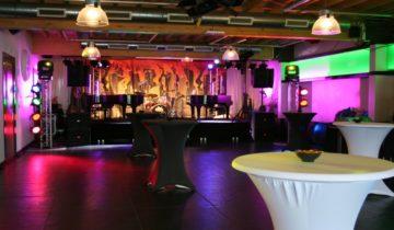 De ruimtes van Inn Style 2.0 in Maarssen zijn goed te gebruiken voor een personeelsfeest.