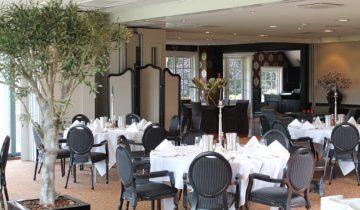 Dinersetting voor een sjiek personeelsfeest bij Landgoed De Wilmersberg in de Lutte