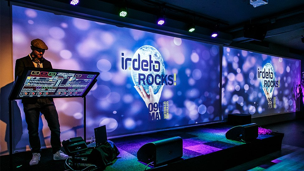 Irdeto|Jubileumfeest op maat | Irdeto Rocks!