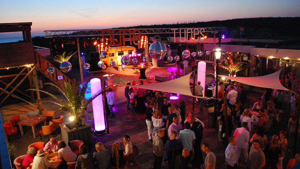 Nederzandt is een goede locatie voor het Ibiza Strandfeest