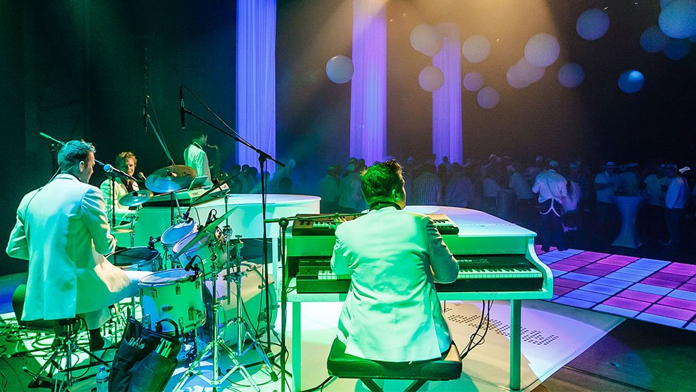 The Piano Party Feestthema