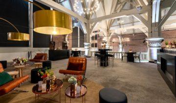 De lounge in de st. olofskapel in Amsterdam.