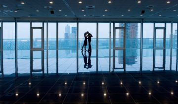 De panoramazaal van het Inntel Hotel Rotterdam