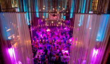 Een personeelsfeest in de Orangerie feestlocatie in Den Bosch.