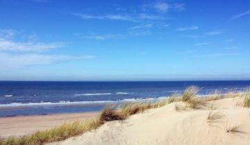 Het strand is goed bereikbaar voor activiteiten bij St(r)andplaats Nederzandt