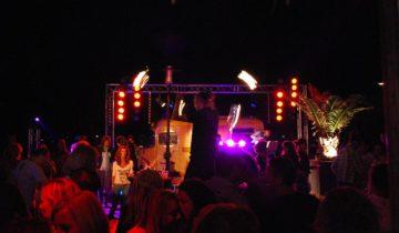 Entertainment bij St(r)andplaats Nederzandt in Noordwijk