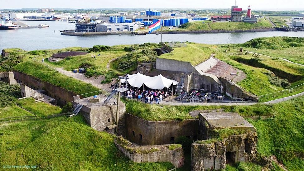 Forteiland IJmuiden Feestlocatie IJmuiden