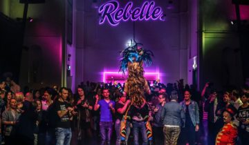Entertainment op de vloer van Rebelle Maastricht feestlocatie