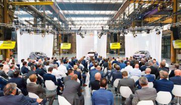 Productpresentatie bij feestlocatie de Werkspoorkathedraal in Utrecht.