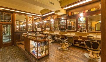 Barbershop feestzaal bij Jaiselings Royal Palace feestlocatie Wernhout.