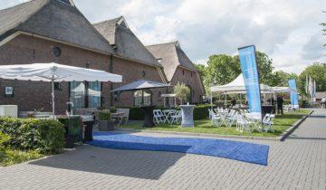 Bedrijfsevenement bij feestlocatie de Bronckhorst Hoeve in Brummen.
