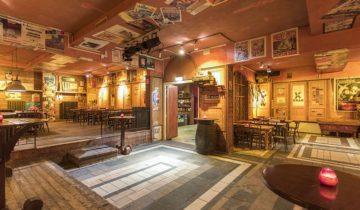 ganzebord cafe bij Jaiselings Royal Palace feestlocatie Wernhout.