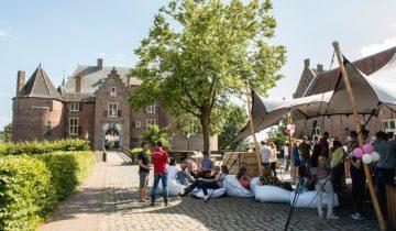 Buitenplaats van kasteel Ammersoyen in Ammerzoden.