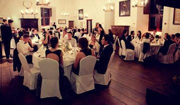 Sitdown diner bij Kasteel Ammersoyen feestlocatie in Ammerzoden.