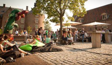 Buiten evenement bij Kasteel Ammersoyen feetslocatie in Ammerzoden.