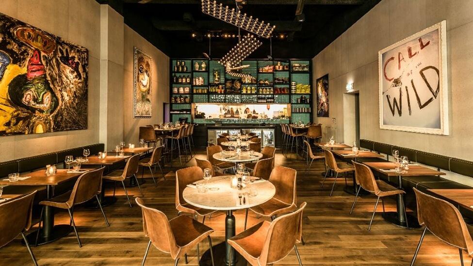Diner restaurant van De Kroon feestlocatie Amsterdam.