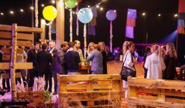 Bedrijfsevenement in de achterbak van Theater Amsterdam feestlocatie Amsterdam.