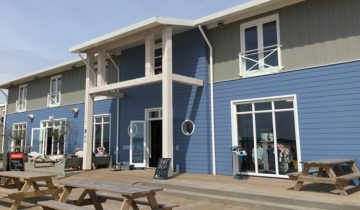Pand Brunotti Beachclub feestlocatie in Oostvoorne.