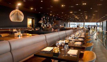 Restaurant boven de planken van Theater Amsterdam.