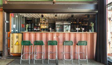 Bar van de Event Zaal van Pllek feestlocatie Amsterdam.