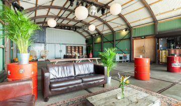 interieur Event Zaal van Pllek feestlocatie Amsterdam.