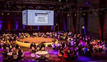 Personeelsvergadering bij feestlocatie RDM Rotterdam.