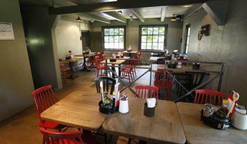 Overzicht restaurant Hanekamp van Openluchtmuseum feestlocatie Arnhem.