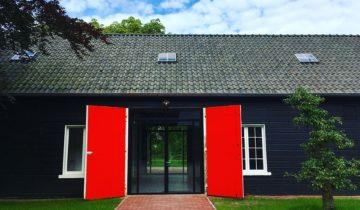 Vooraanzicht Artillerieloods van Fort de Batterijen feestlocatie Nieuwegein.