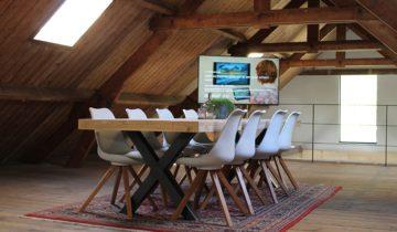 Vergaderruimte bij Fort de Batterijen feestlocatie Nieuwegein.