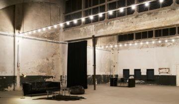 Overzicht over The Space zaal van De Patronage feestlocatie in Zaandam.