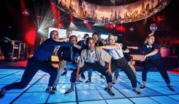 Back To Live feest na corona Breakdance groep tijdens Netflix event (foto-tychoseye)