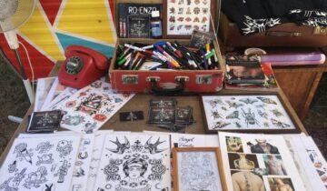 Tuig Tattooshop voor tattoos op events